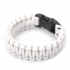Stylish Survival Glowing-in-the-dark Paracord Bracelet - White
