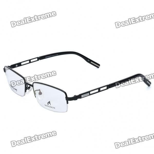 Genuine MINGDUN Titanium Alloy Grading Spectacle Frame - Black