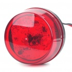 Safety Red Flashing Warning Light for Motorcycle/Vehicle (12V)