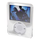 Crystal Protective Case for New 3rd Gen Video Capable Ipod Nano (Silver)