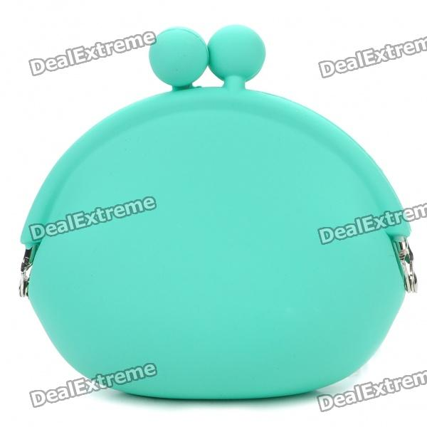 Mini Silicone Frog Coins Purse - Green
