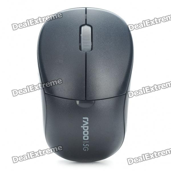 Rapoo 1090P 5.8GHz Wireless 1000DPI Optical Mouse with USB Receiver - Black (1 x AA) motospeed g310 fashion wireless 1000dpi optical mouse black red 1 x aa