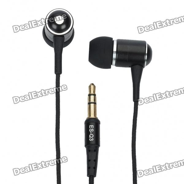 Awei 3.5mm In-Ear Stereo Earphone for IPHONE - Black