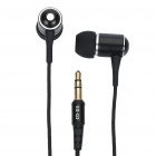 Awei 3.5 mm In-ear Cushion Style Stereo Earphone for Iphone - Black