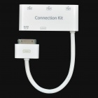 3-Port USB Hub/Sync/Charge/Card Reader Connection Kit for iPad