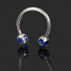 316L Surgical Steel Multifunction Body Piercing Ring - Random Color