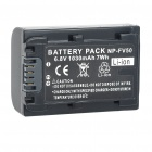 Replacement NP-FP50 7.4V 750mAh Battery Pack for Sony DCR-DVD92/DCR-HC41 + More