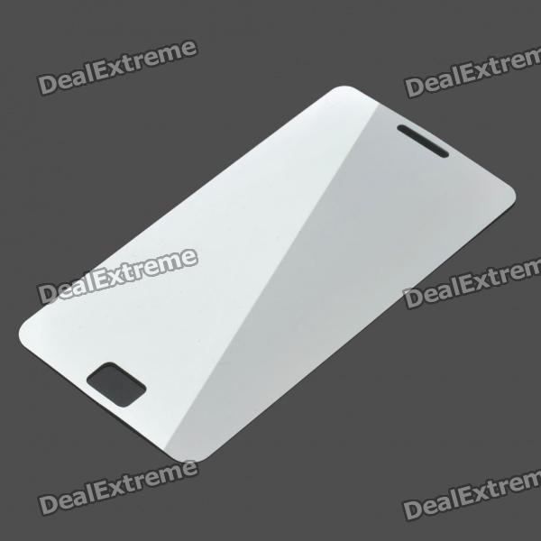 Protective Mirror Screen Guard + Cleaning Cloth for Samsung Galaxy S2 i9100