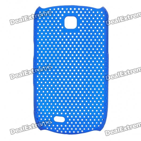 Mesh Protective ABS Back Case for Samsung Galaxy Mini S5570 - Blue mesh protective abs back case for samsung galaxy mini s5570 white