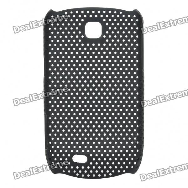 Mesh Protective ABS Back Case for Samsung Galaxy Mini S5570 - Black mesh protective abs back case for samsung galaxy mini s5570 white