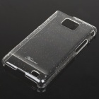 Fashion Protective Water Drop Style Back Case for Samsung i9100 - Transparent White