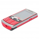 "T9 2.2"" LCD Screen 7-day Standby Dual SIM Dual Network Quadband Barphone w/ TV + Java - Red + Black"