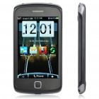 "C7 4,0 ""Touch Screen Dual SIM Dual Network Standby Quadband Barphone w / WiFi + TV + Java - Black"