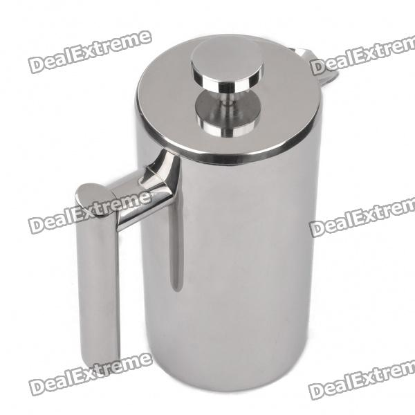 Double-Layer-Multifunktions-Filter / Coffee Kettle / Französisch Presse - Silver (750ml)