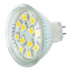 MR16 1,5 W 12-LED 150-Lumen Warm White Light Bulbs (11-18V)
