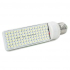 E27 6W 96-SMD 3528 LED 600-Lumen White Light Bulbs (AC 100-250V)