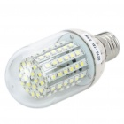E27 5,5 W 90-SMD 3528 LED 550-Lumen White Light Bulbs (DC 10-18V)
