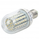 E27 5.5W 90-SMD 3528 LED 500-Lumen Warm White Light Bulbs (DC 10-18V)