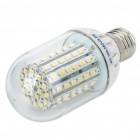 E27 5.5W 90-SMD 3528 LED 500-Lumen Warm White Light Bulbs (AC 100-250V)