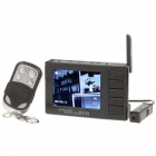"2,4 GHz Wireless Security Surveillance Camera w / 2,5 ""LCD-Monitor"