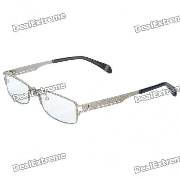 Designer's Fashion Stainless Steel Frame Resin Lens Glasses