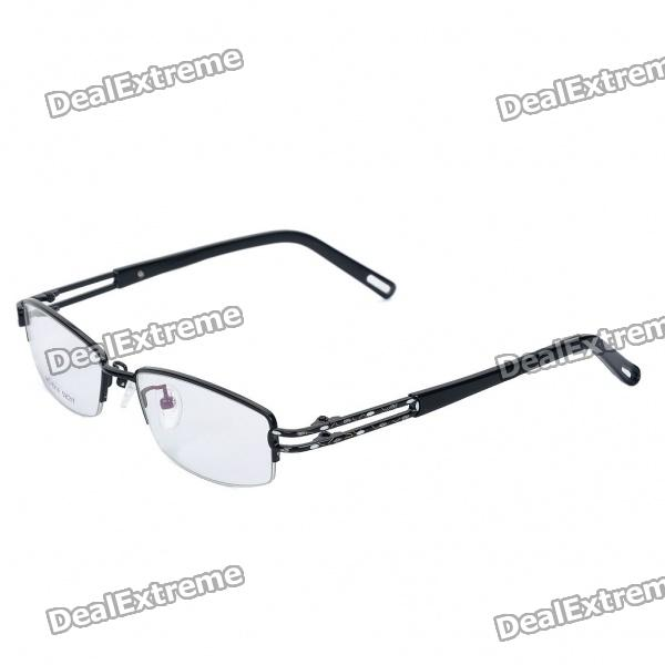 MINGDUN Fashion Stainless Steel Frame Resin Lens Glasses