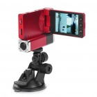 1080P Dual Lens 2-CH Wide Angle Vehicle Car Digital DVR Camcorder w/ TF / Mini HDMI / IR (2.6