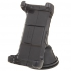 Universal ABS Swivel Mount Holder for Cellphone - Black