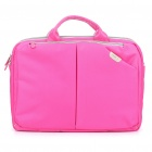 "ROCK Protective Nylon Handbag/One Shoulder Bag for Macbook Air 13""/14.1"" Laptop Notebook - Deep Pink"
