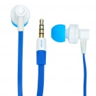 Fashion In-Ear-Stereo-Ohrhörer w / Mikrofon - Blue (3,5 mm-Klinke / 124cm-Kabel)