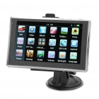 "5.0"" Touch Screen WinCE 5.0 GPS Navigator w/ TF Card - Black"