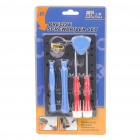 Precise Screwdriver Tool Set - Blue + Red + White
