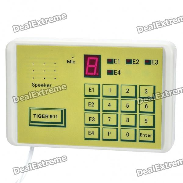 TIGER-911 0.8 LED Telephone Auto DialerAlarm Systems<br>Model:Form  ColorGreyPacking List<br>