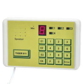 "TIGER-911 0.8"" LED Telephone Auto Dialer"