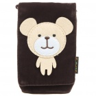 Cartoon Style Protective Bag with Strap for Iphone 4/4S