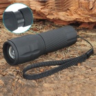 1-Mode 125-Lumen Zoom Convex Lens Osram White LED Flashlight w/ Strap (3 x AAA / 1 x 14500)