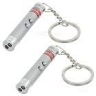 2-in-1 Super Bright Red Laser with LED (2-Pack)