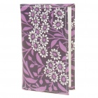Stylish Folding PU Leather Business Credit Bank Card Holder Pouch - Purple