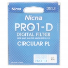 Nicna 67mm Slim Multi-Coated MC CPL Polarizing PL Filter - Black