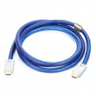 Genuine Sony 3D 1080P HDMI Male to Male Connection Cable - Blue (2M-Length)