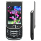 "Mini 9800 2,6 ""LCD Dual SIM Dual Network Standby Quadband QWERTY Slide Phone w / TV + JAVA - Black"