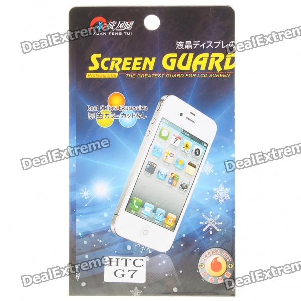 Screen Protector/Guards with Cleaning Cloth for HTC G7 matte screen protector guards with cleaning cloth for htc g10