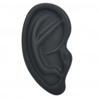 Creative Ear Shaped Protective Silicone Case for Iphone 4/4S - Black