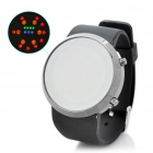 Stylish Colorful 31-LED Digit Alloy Wrist Watch - Black (1 x CR2032)
