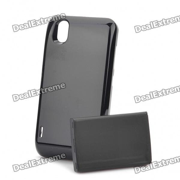 где купить  Replacement 3.7V 3500mAh Extended Battery Pack + Matching Back Case for LG Optimus Black/P970  дешево