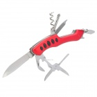 Outdoor Stainless Steel Multi-Tool Knife (Random Color)
