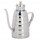 Stylish Stainless Steel Olive Oil Bottle (350ml)