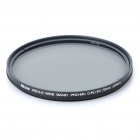 Nicna 72mm Slim Multi-Coated MC CPL Polarizing PL Filter - Black