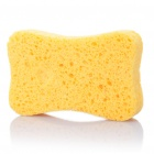 Wood Pulp Cotton Cleaning Sponge Pad - Yellow