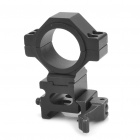 Universal Quick Release Aluminum Alloy Gun Mount with Hex Wrench - Black